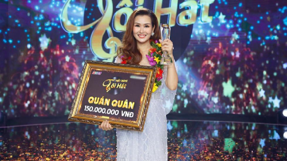 """Võ Hạ Trâm giành ngôi Quán quân """"Hãy nghe tôi hát 2018"""""""