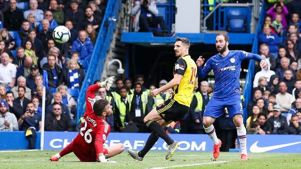 Ngoại hạng Anh: Đánh bại Watford, Chelsea vào top 3