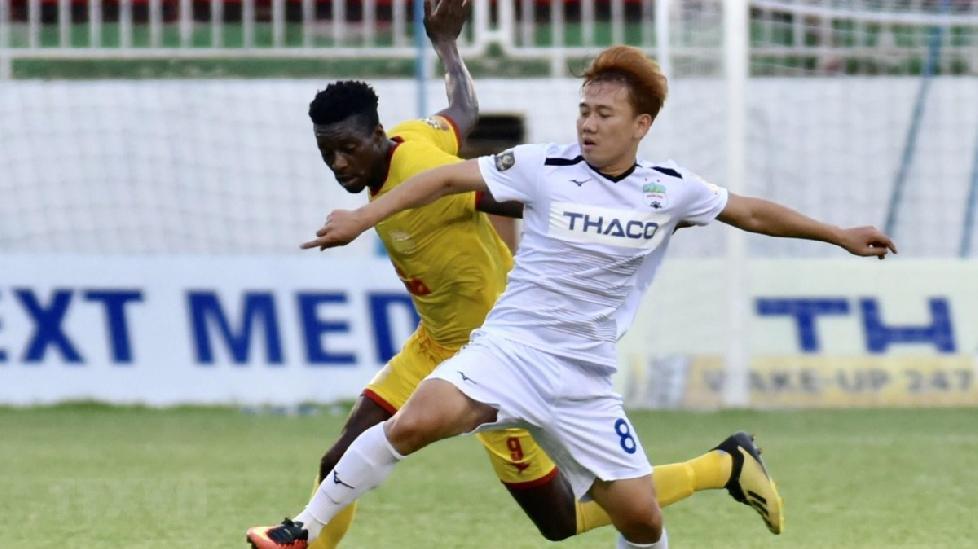 Hoàng Anh Gia Lai giành chiến thắng 2-0 trước Nam Định