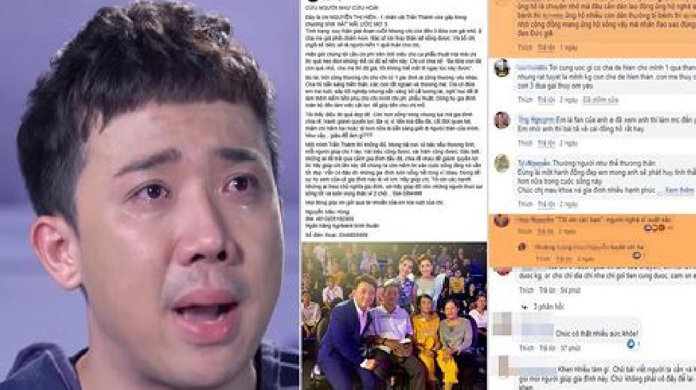 Trấn Thành bị xúc phạm và mạt sát khi kêu gọi giúp đỡ người nghèo