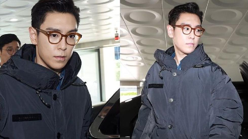 Ngày xuất ngũ, T.O.P (Big Bang) được chào đón trở lại