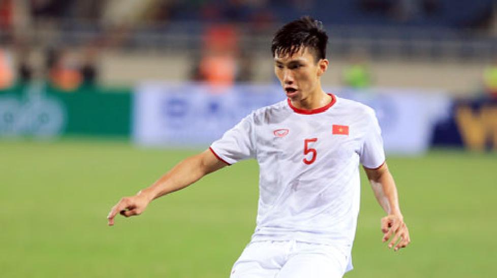 Cơ hội ra sân trong trận đấu tâm điểm với Thái Lan của Văn Hậu đang bị bỏ ngỏ