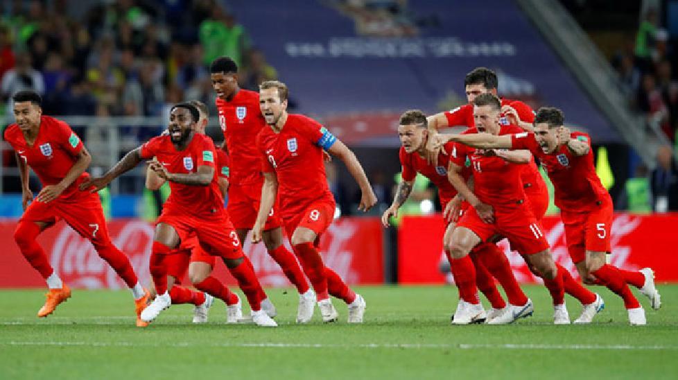 Hạ Colombia trên chấm phạt đền, Anh vào tứ kết World Cup