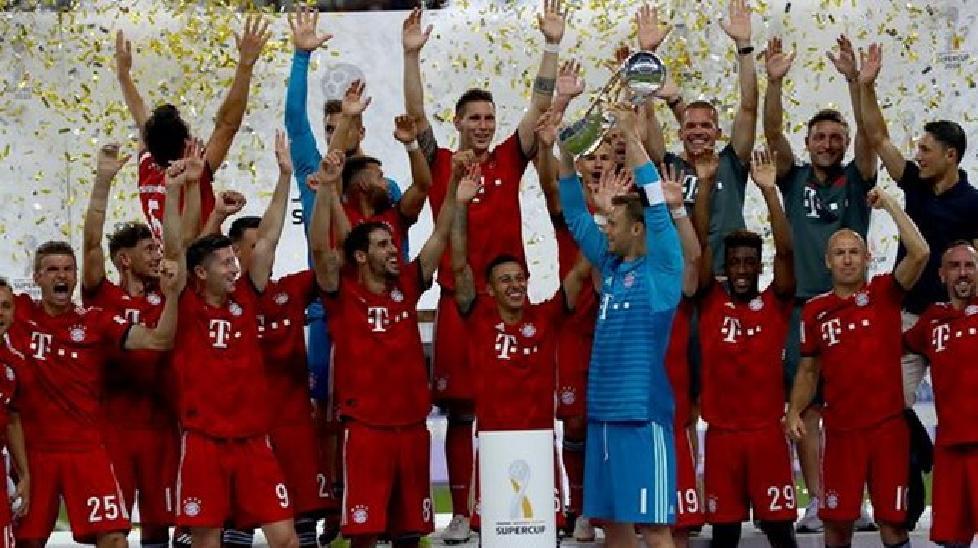 Hủy diệt Eintracht Frankfurt, Bayern đăng quang siêu cúp Đức