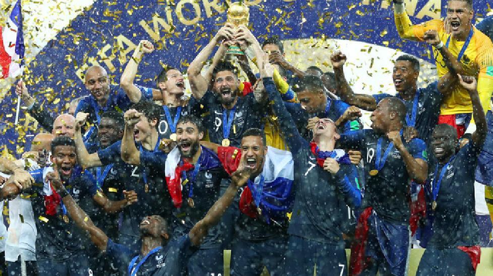 Bảng xếp hạng FIFA tháng 8/2018: Pháp vươn lên ngôi đầu