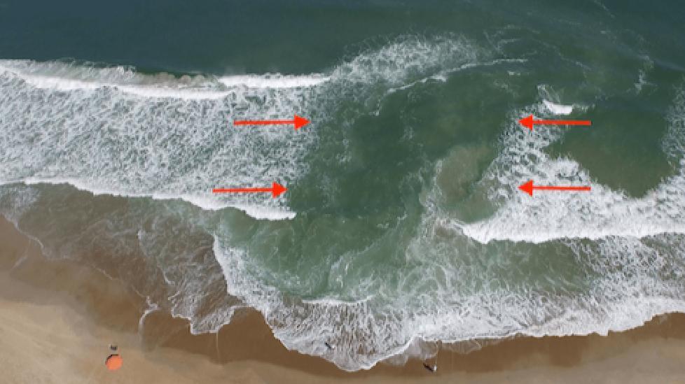 Dòng chảy xa bờ - tử thần biển cả ẩn sau vẻ bình yên