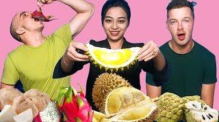 Khi người nước ngoài ăn thử Sầu riêng của Việt Nam!
