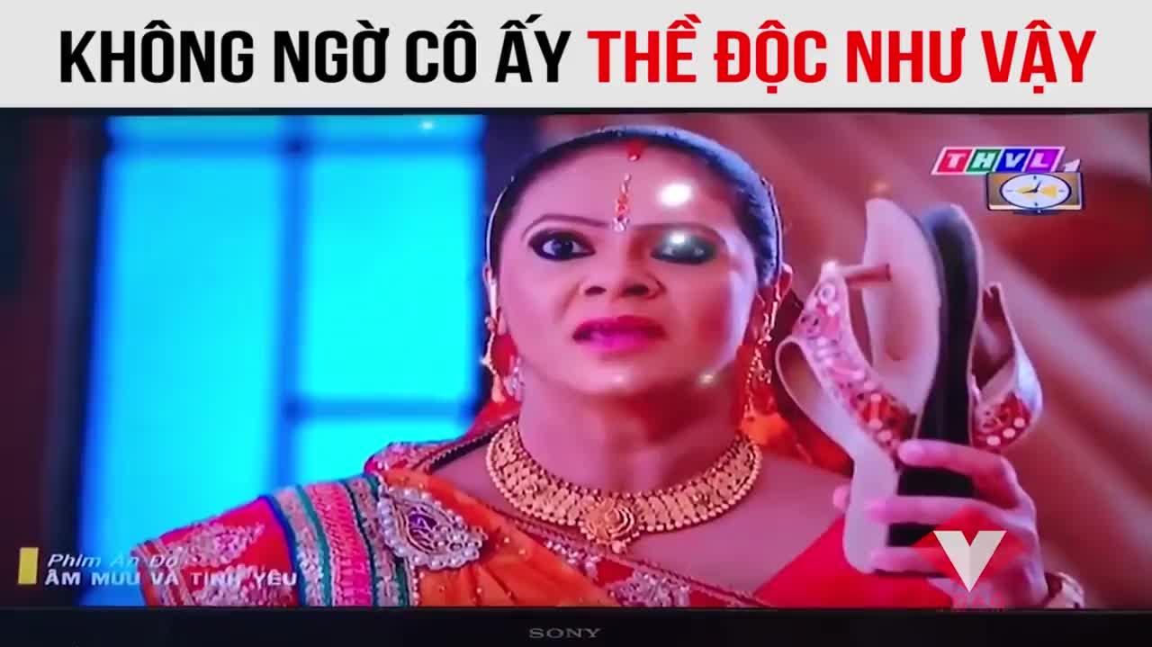 Cười sặc với 'lời thề độc' chỉ có trong phim Ấn Độ