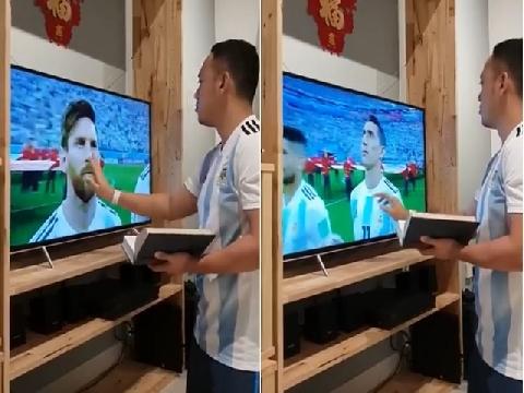 Hài: Khi bạn đặt hết cửa vào Argentina!