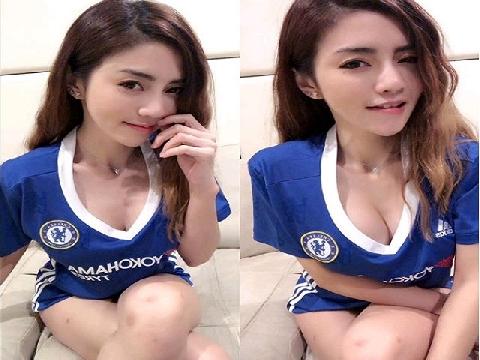 Khi fan nữ Chelsea biến hình!