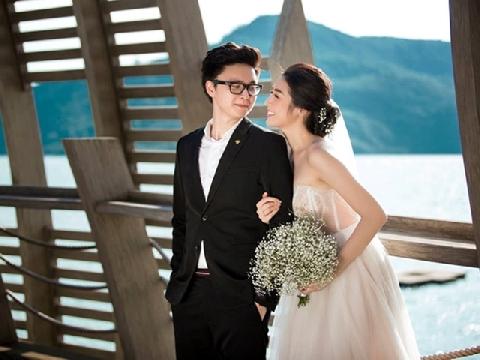 Ngắm bộ ảnh cưới siêu lãng mạn của á hậu Tú Anh