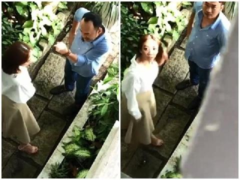 Lộ clip Thu Trang - Tiến Luật cãi nhau vì ngoại tình