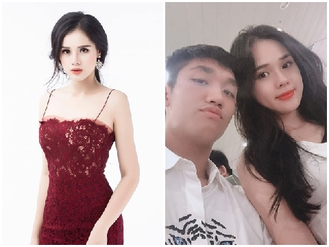 Gái đẹp ''đi thi hoa hậu để kiếm tiền'' hẹn hò tuyển thủ U23 Trọng Đại