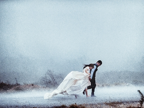Ngắm bộ ảnh cưới 4 mùa của á quân Vietnam's Next Top Model