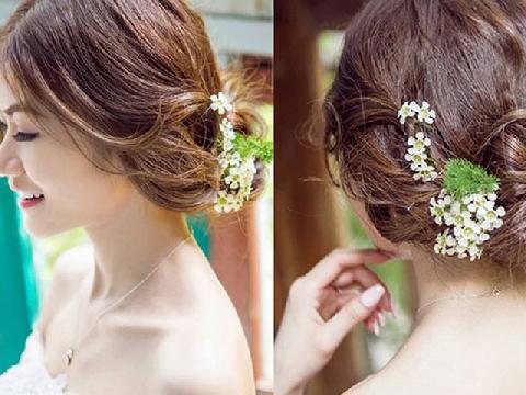 5 kiểu tóc cưới lãng mạn cho cô dâu tóc dài
