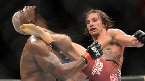 50 pha knock-out đỉnh cao của MMA, Taekwondo,Capoeira (P3)