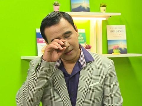 Bị tố tham tiền, Quyền Linh bật khóc tuyên bố giải nghệ