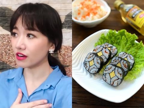 Hari Won siêu dễ thương khi bật mí cách làm Kimbap chuẩn Hàn Quốc