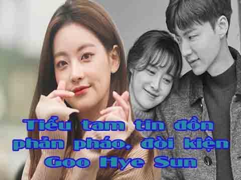Biến căng: 'Tiểu tam tin đồn' Oh Yeon Seo đòi kiện Goo Hye Sun