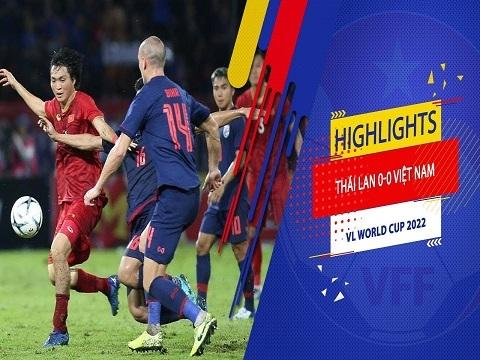 Thái Lan 0-0 Việt Nam (Vòng loại World Cup 2022)