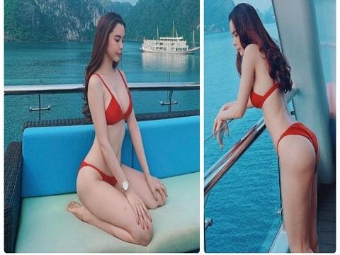Bí quyết sở hữu vòng 3 lên tới 1m của Hoa hậu Huỳnh Vy