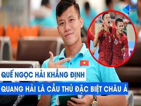 Quế Ngọc Hải khẳng định: 'Quang Hải là cầu thủ đặc biệt của châu Á'