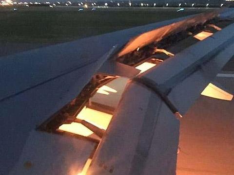 Động cơ máy bay Mỹ tách rời, rung bần bật giữa không trung