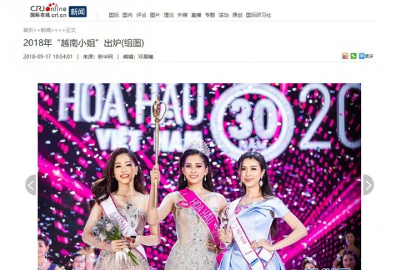 Báo nước ngoài nhận định Tân hoa hậu Việt Nam sẽ lot vào Top 5 Miss World 2018