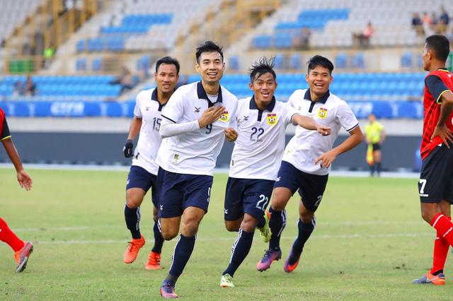 Bóng đá Lào hiện không còn tiến bộ nhanh như trước