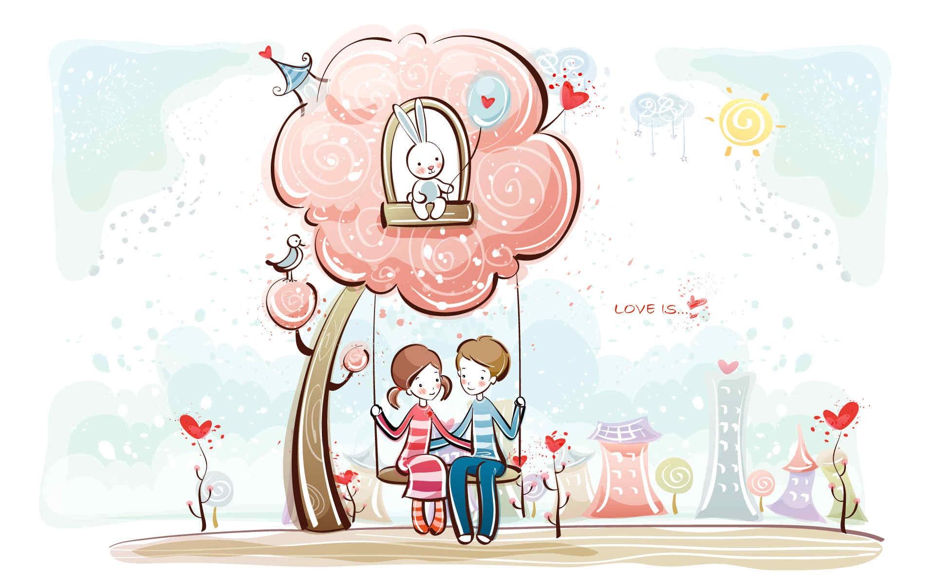 Kết quả hình ảnh cho hoạt hình tình yêu