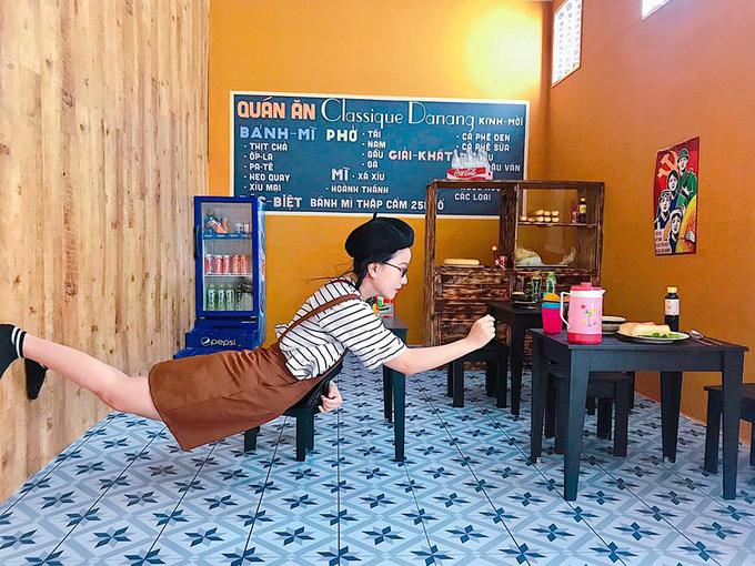 Ngôi nhà lộn ngược đầu tiên ở Đà Nẵng