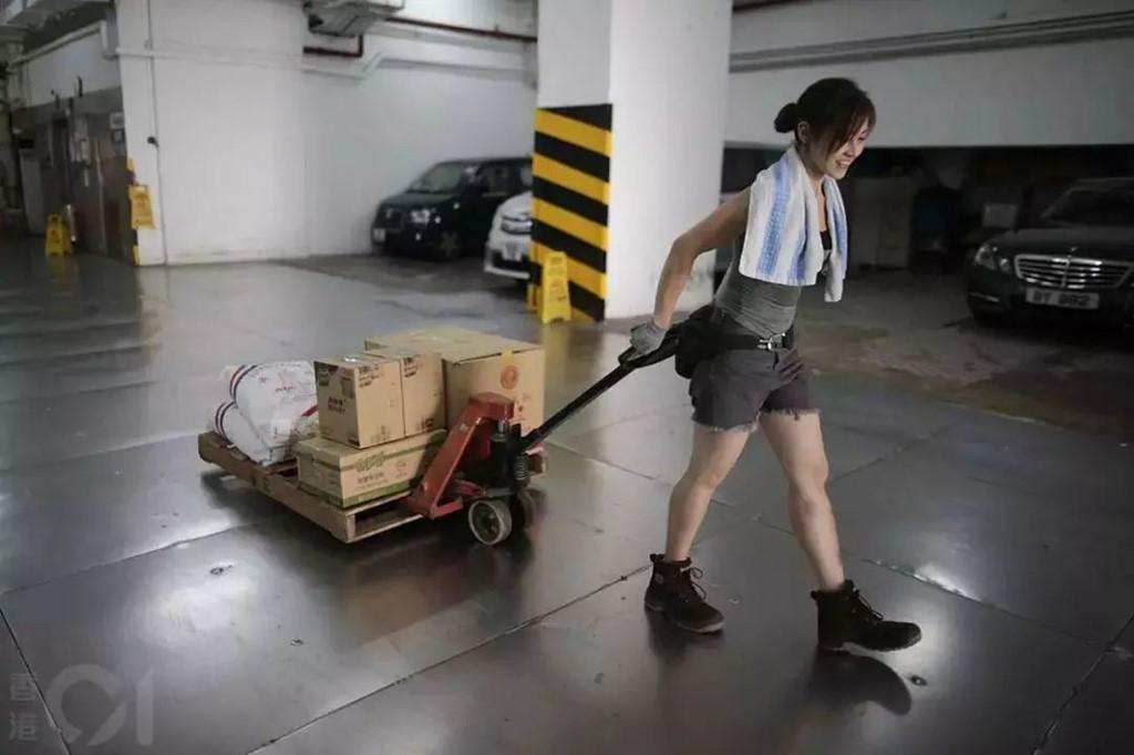 'Hot girl boc vac' Hong Kong: Da lam nghe 10 nam, tu choi vao showbiz hinh anh 3