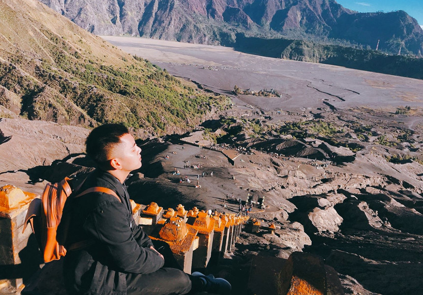 Den Indonesia, cham chan toi mieng nui lua Bromo hinh anh 14