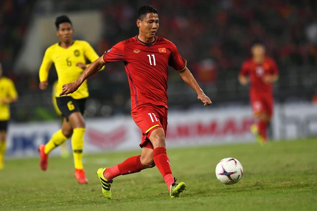 Anh Đức tạo ra cái kết ngọt ngào cho chính mình và cho đội tuyển Việt Nam ở AFF Cup 2018 (ảnh: Quý Đoàn)