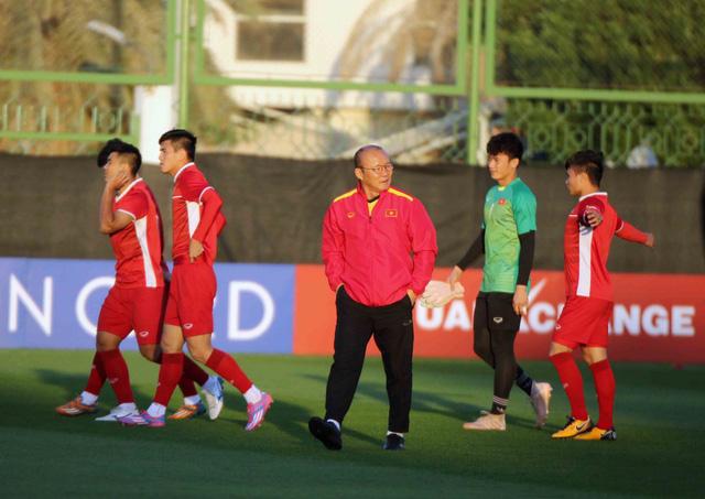 HLV Park Hang Seo đặt nhiều sự kỳ vọng vào Quang Hải