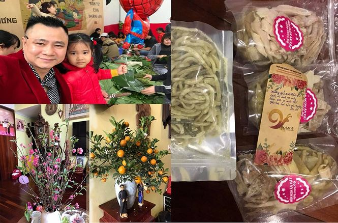 Sao Việt gói bánh, làm mứt, trang hoàng nhà cửa đón Tết Kỷ Hợi - ảnh 1