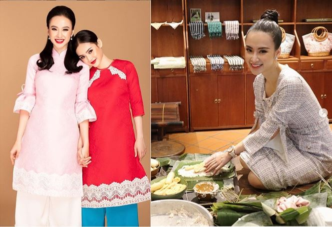 Sao Việt gói bánh, làm mứt, trang hoàng nhà cửa đón Tết Kỷ Hợi - ảnh 6