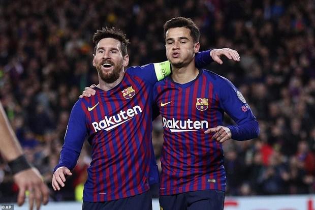 Ket qua Champions League: Bayern bi loai, Barcelona thang dam hinh anh 2