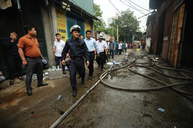 Cháy 4 nhà xưởng tại Hà Nội, 8 người chết và mất tích - ảnh 2