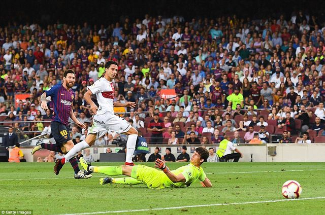 Barcelona chạm tay vào chức vô địch sau cuộc đấu với đội cuối bảng? - 3
