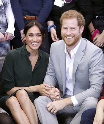 Hoàng tử Harry và Công nương Meghan. Ảnh: PA