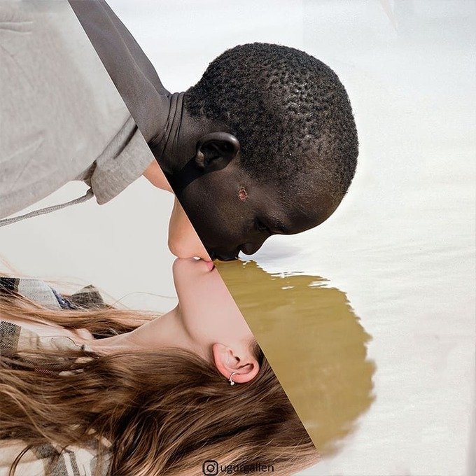 <p>  Một chàng trai da màu đang cố gắng tìm nguồn nước sạch, trong khi một anh chàng khác lại đang tận hưởng tình yêu.</p>