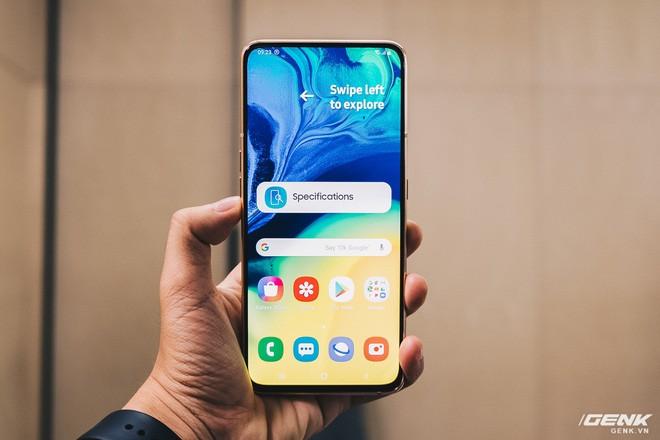 Samsung Galaxy A80 chính thức ra mắt tại Việt Nam: Camera trượt xoay 180 độ, màn hình không cạnh, chip Snapdragon 730G, giá bán 15 triệu đồng - Ảnh 1.