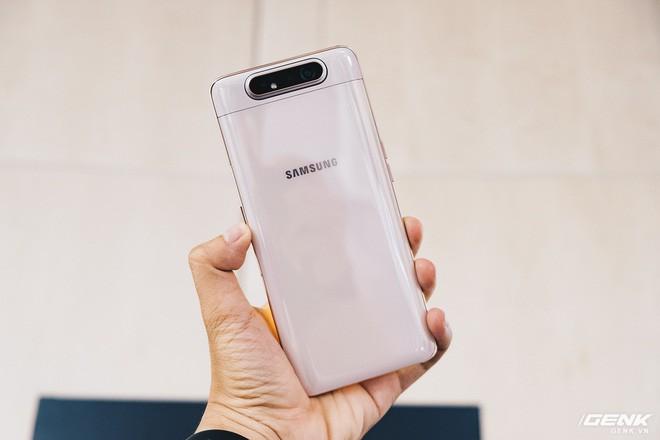 Samsung Galaxy A80 chính thức ra mắt tại Việt Nam: Camera trượt xoay 180 độ, màn hình không cạnh, chip Snapdragon 730G, giá bán 15 triệu đồng - Ảnh 3.