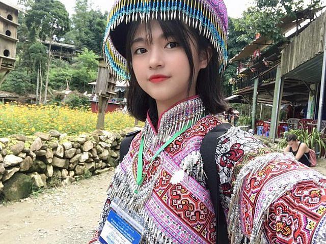 Xao xuyến nét đẹp trong sáng của cô gái dân tộc Giáy - Hình 8