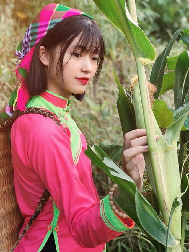 Xao xuyến nét đẹp trong sáng của cô gái dân tộc Giáy - Hình 7