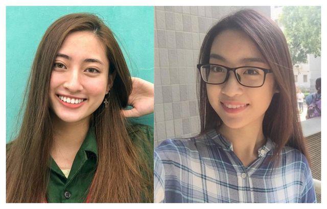 So nhan sắc mặt mộc của Hoa hậu Đỗ Mỹ Linh và Lương Thuỳ Linh - 4