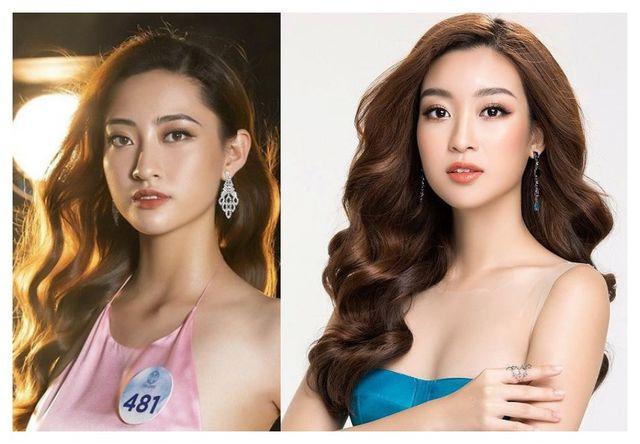So nhan sắc mặt mộc của Hoa hậu Đỗ Mỹ Linh và Lương Thuỳ Linh - 3