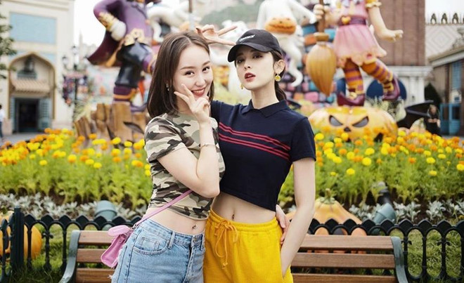 My nhan Tan Cuong Co Luc Na Trat mac ao ngan khoe 'vong eo con kien' hinh anh 1