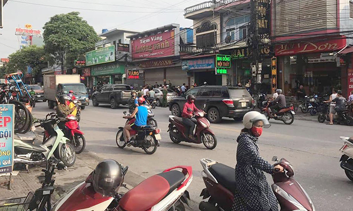 Xac dinh danh tinh nghi pham cam sung cuop tiem vang o Quang Ninh hinh anh 2